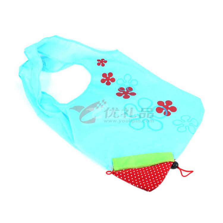 草莓袋折叠袋购物袋批量定制
