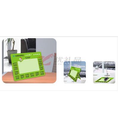 EVA+纸+PVC中号多功能相框年历鼠标垫