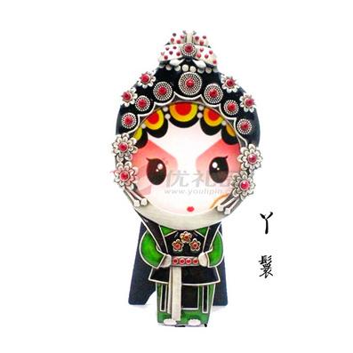 京劇人物相框系列之丫鬟 創意禮品 傳統藝術