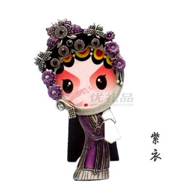 京劇人物相框系列之紫衣 創意禮品 傳統藝術