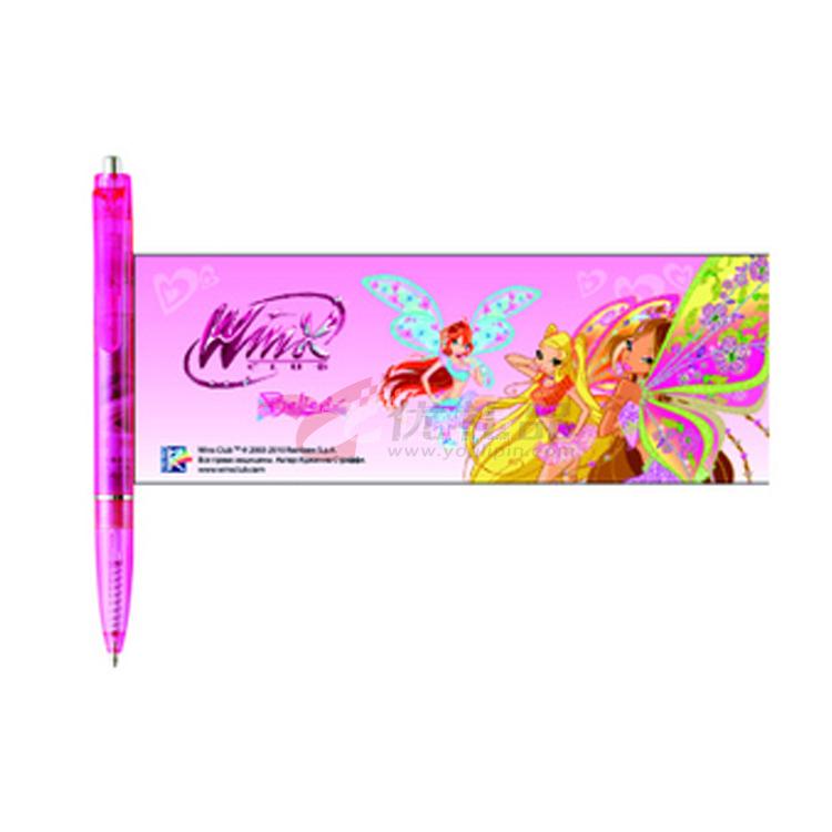 拉画笔 可更换广告纸 加LOGO 促销 会议佳礼品