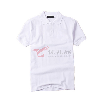 240克全棉精梳短袖翻領T恤/polo衫/文化衫定制