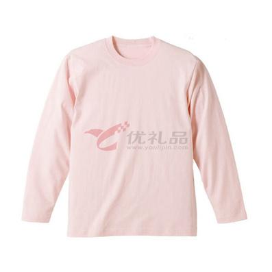 全棉200克長袖圓領衫/T恤/廣告衫定制