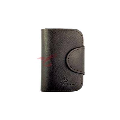 雙色二層小荔枝紋鑰匙包 可印制LOGO