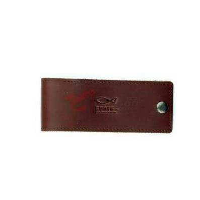 进口油皮汽车钥匙包 可印制LOGO