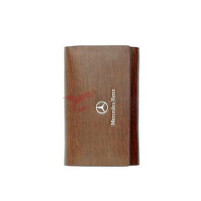 外二层拉丝牛皮+内二层纳帕皮钥匙包 可印制LOGO