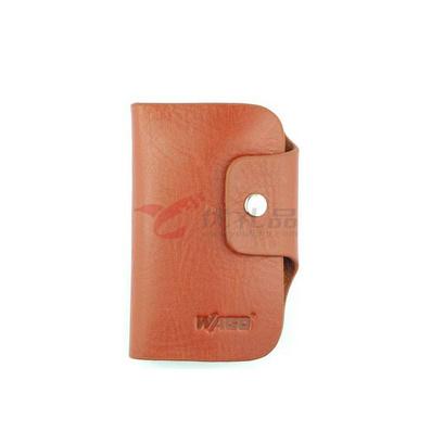 進口摔紋樹羔皮鑰匙包 可印制LOGO