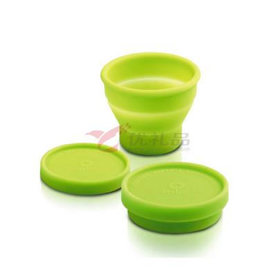 Stylor/法國花色 硅膠保溫隨行杯 花色隨身折疊杯 創意水杯