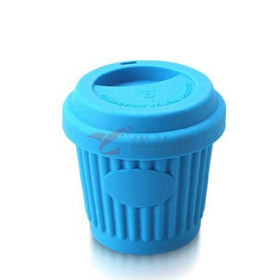 Stylor/法国花色 保温纳米硅胶随行杯子 便携喝水杯