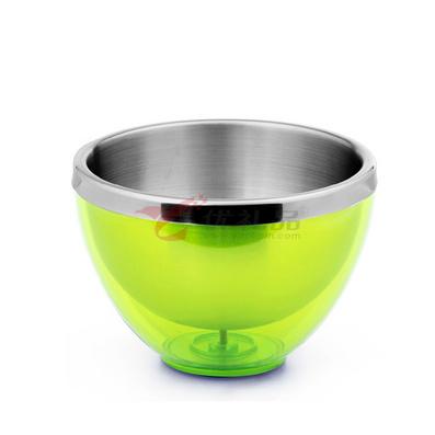 Stylor/法國花色 0.8L不銹鋼小號創意廚房時尚用品水果碗