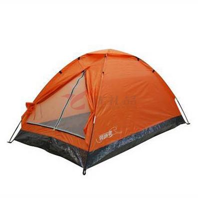 領路者橙色雙人野營帳篷