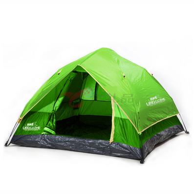 領路者綠色四角自動帳篷