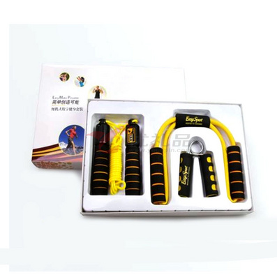 魅力塑身3件套2.0(計數跳繩+塑胸拉力器+握力器+在線教練卡)