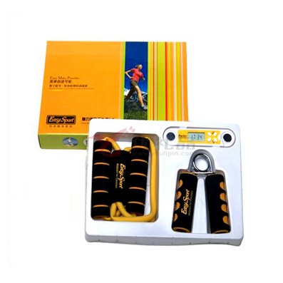 Easysport时尚运动三件套(脂肪仪+塑胸拉力器+握力器)