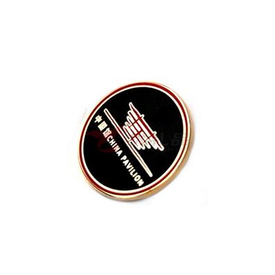 鍍鎳烤漆徽章 可定制需求  加LOGO