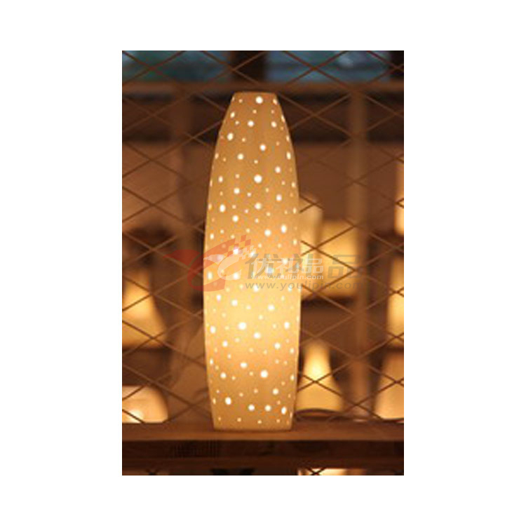 陶藝臺燈/創意臺燈