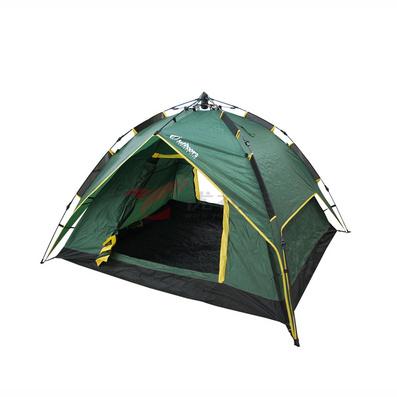 OUTDOORZ歐德仕挑戰者五秒速開速收雙層野營帳篷