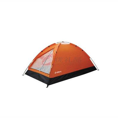 OUTDOORZ歐德仕輕翼桔色野營帳篷