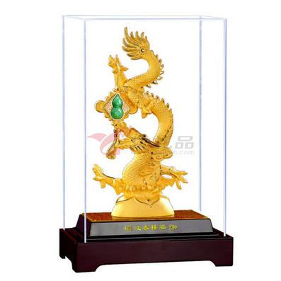 絨沙金工藝品2012龍年新品迎春接福(小號)
