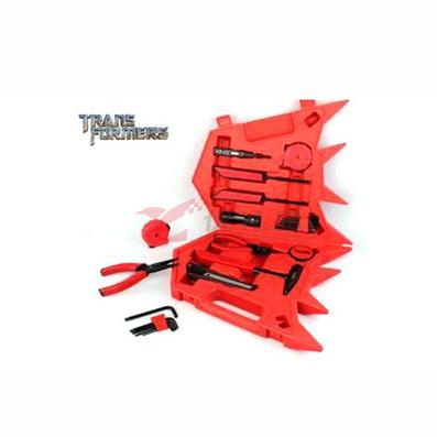 變形金剛正版授權衍生禮品工具套裝 紅色
