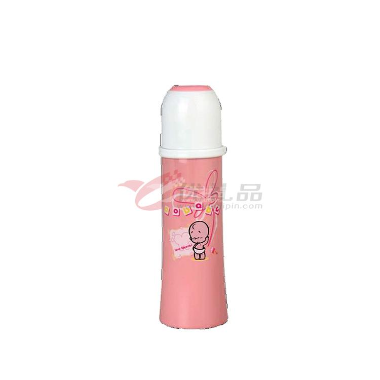 涂鴉保溫杯300ML粉色