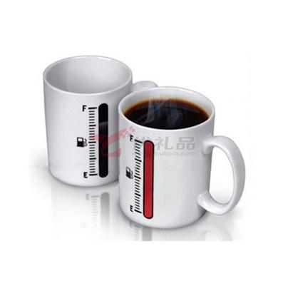 变色温度计马克杯/变色杯/陶瓷杯