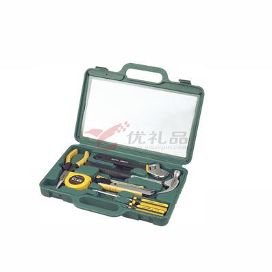 瑞德工具8件方形吹塑盒家用工具组套