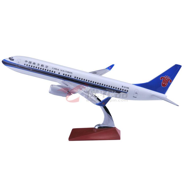 1:110波音737仿真樹脂模型/飛機模型