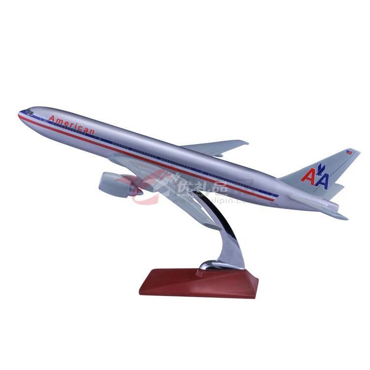 1:150波音777仿真樹脂模型/飛機模型