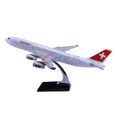 1:127空客A340仿真樹脂模型/飛機模型