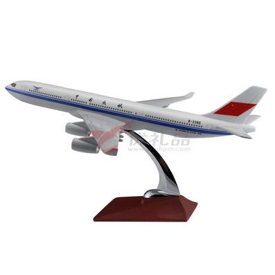 1:187空客A340仿真樹脂模型/飛機模型