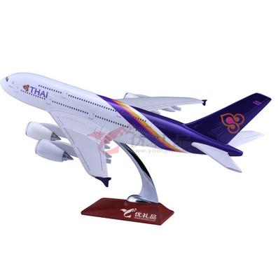 1:167空客A380仿真樹脂模型/飛機模型