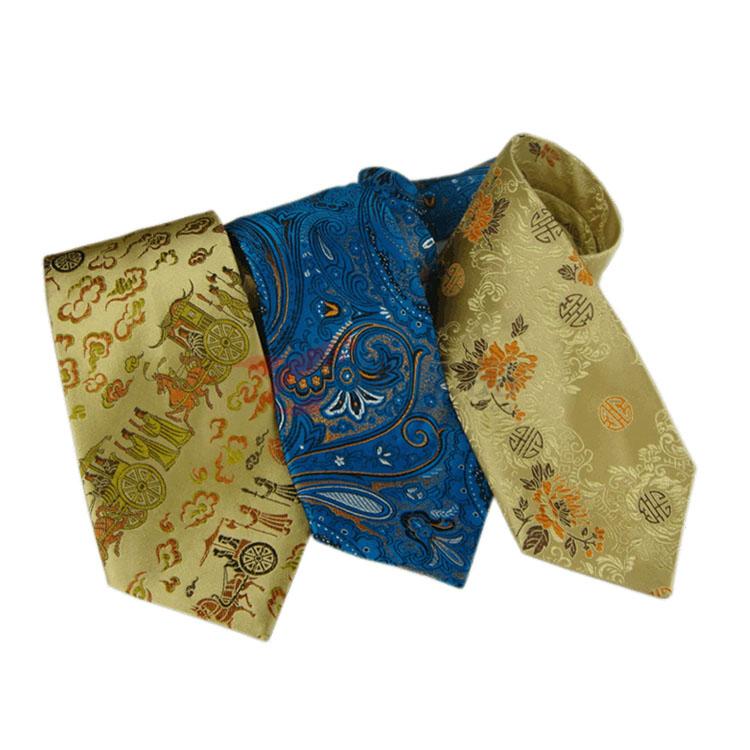 云锦领带 礼盒装 80%桑蚕丝