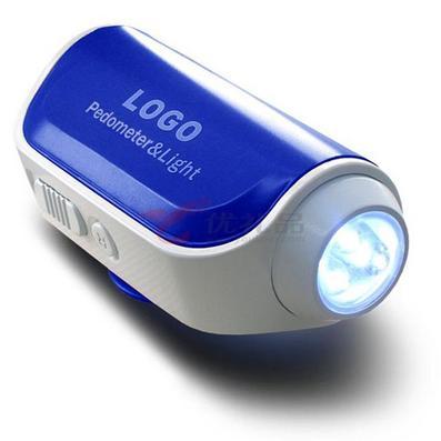 LED 手電計步器