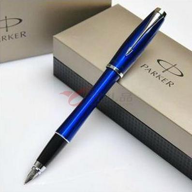 派克筆PARKER/都市海洋藍白夾墨水筆