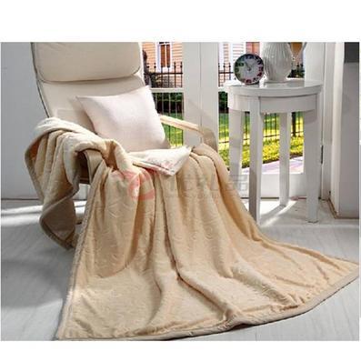 小梦羊多功能羊羔绒盖垫毯定制