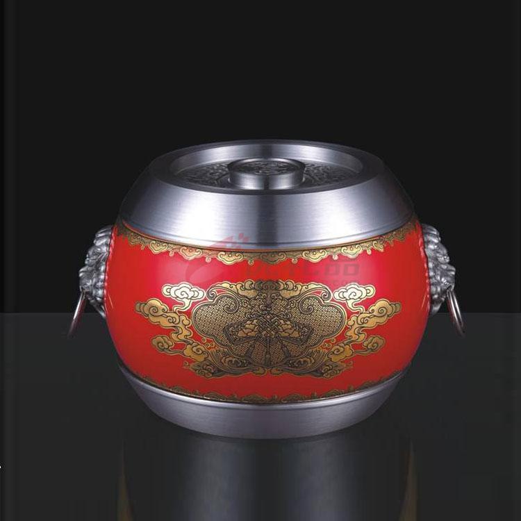 《稱心如意》陶瓷罐