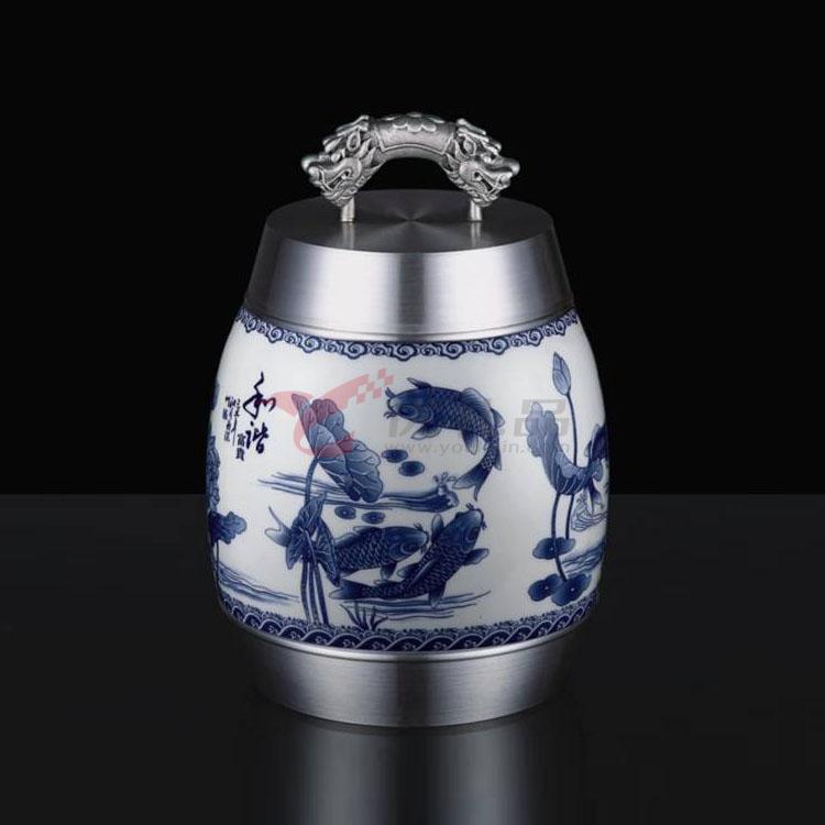 《和諧富貴》陶瓷罐