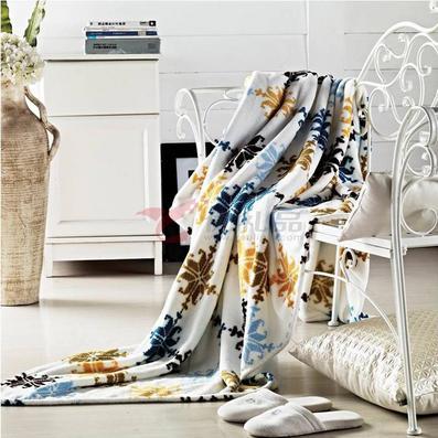 張柏芝代言南方寢飾納米養生毛毯定制