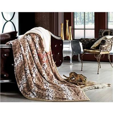 張柏芝代言南方寢飾尊榮富貴毛毯定制