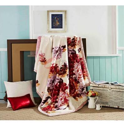 張柏芝代言南方寢飾繽紛爭艷毛毯定制