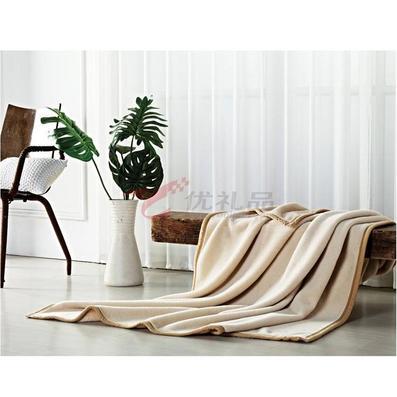 張柏芝代言南方寢飾柔絨珍棉毛毯定制