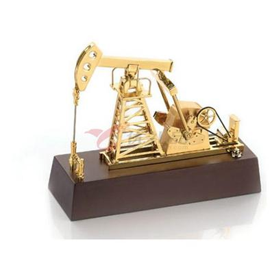 办公桌摆件/仿红木 电动抽油机 摆件