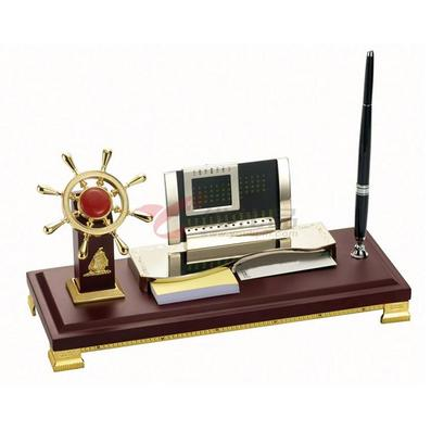 多功能笔筒/办公室摆件/领航舵手、日历、名片盒名片夹名片包定制