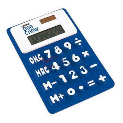 硅胶计算器/超薄计算器