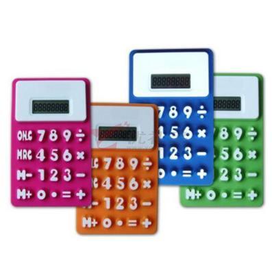 硅膠計算器/超薄計算器