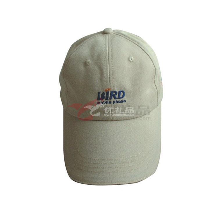 纯棉磨毛三文治棒球帽/工程帽/鸭舌帽子太阳帽 广告帽 定做