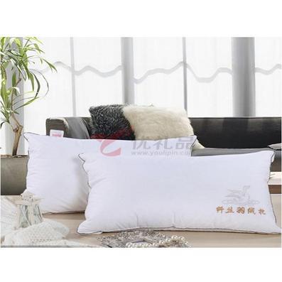 小梦羊纤丝羽绒枕定制