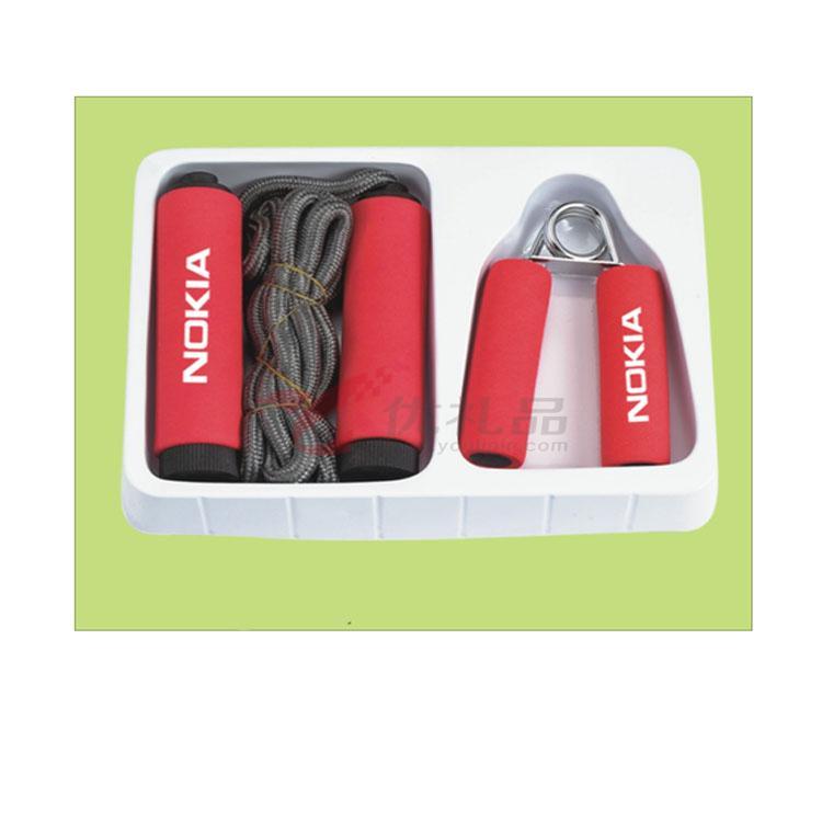 家庭健身两件套(1个握力器+1条跳绳)定制