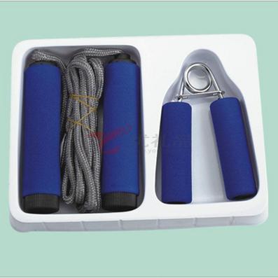 家庭健身倆件套(1個握力器+1條跳繩)定制